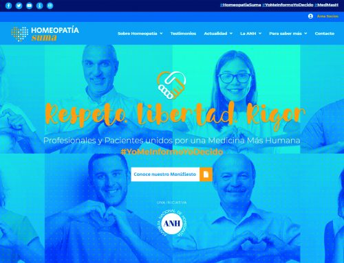 Los homeópatas se unen a la lucha contra los bulos en Internet con el lanzamiento de la web Homeopatía Suma.
